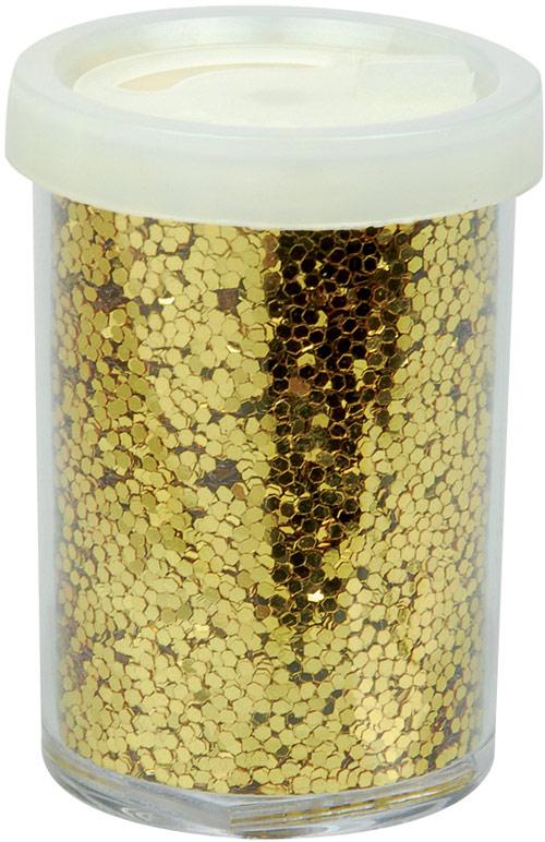 Photo du produit Grosses paillettes dorées Noël