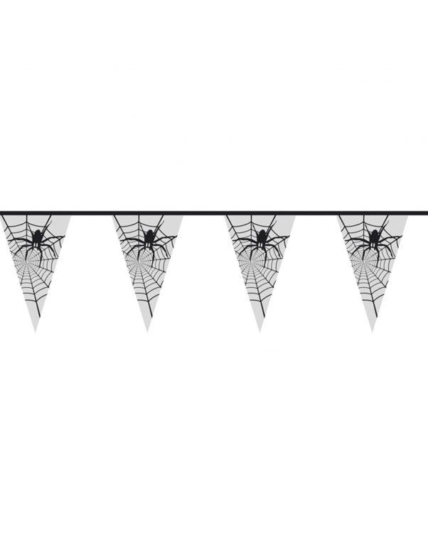 Photo du produit Guirlande araignée transparente halloween