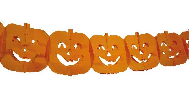 Photo du produit Guirlande citrouille Halloween 4 m