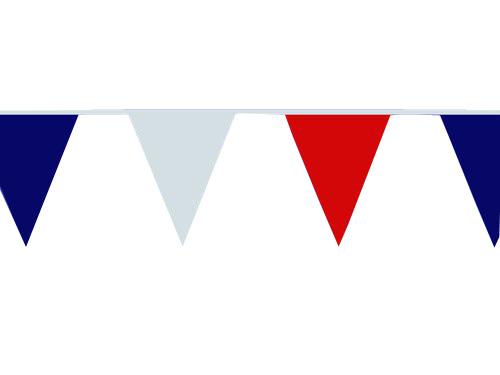 Photo du produit Guirlande de supporter fanions tricolores