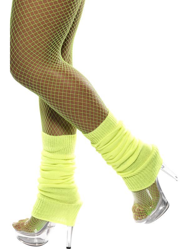 Photo du produit Jambières jaunes fluo femme