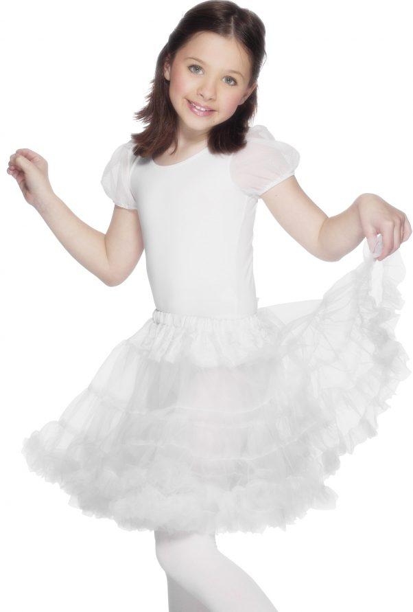 Photo du produit Jupon transparent blanc fille
