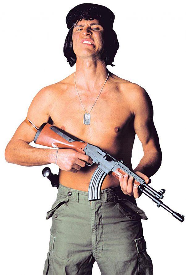 Photo du produit Kalachnikov de soldat en plastique adulte