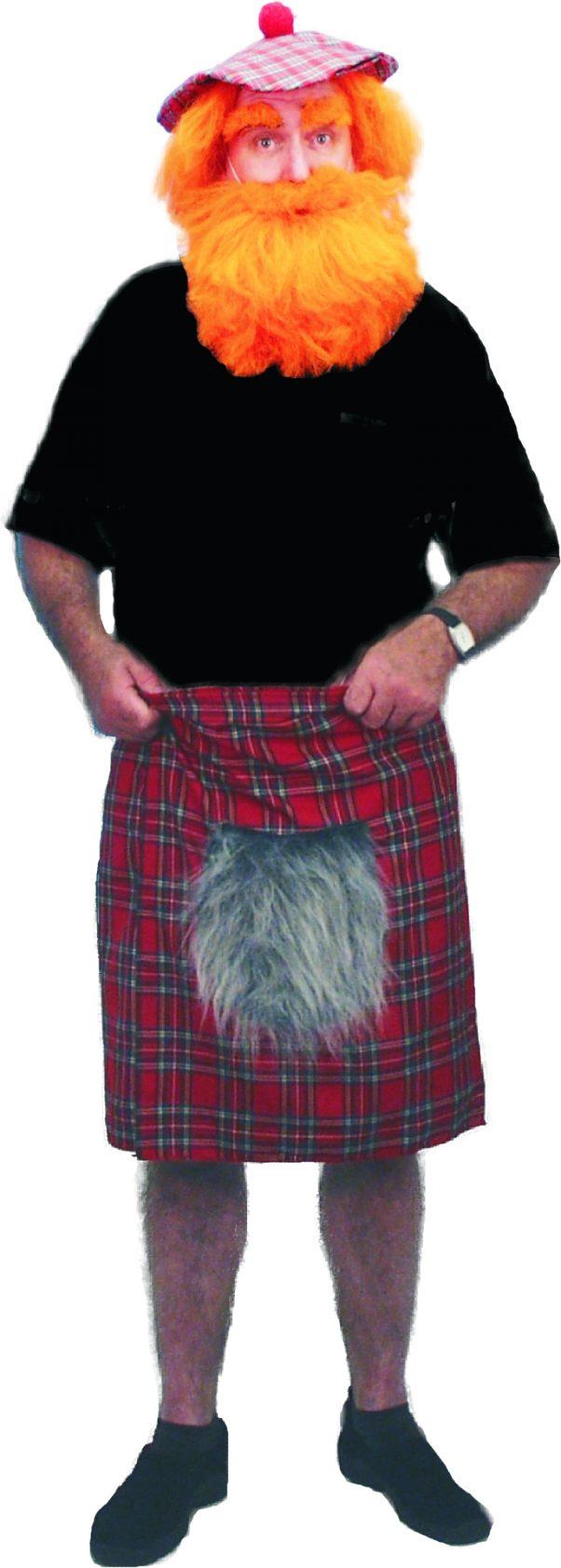Photo du produit Kilt écossais avec fourrure adulte