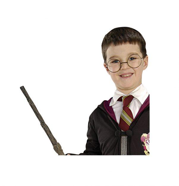 Photo du produit Kit baguette magique & lunettes Harry Potter enfant