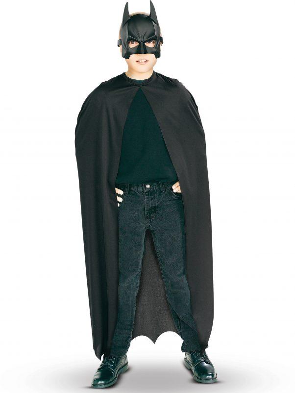 Photo du produit Kit cape et masque PVC Batman garçon