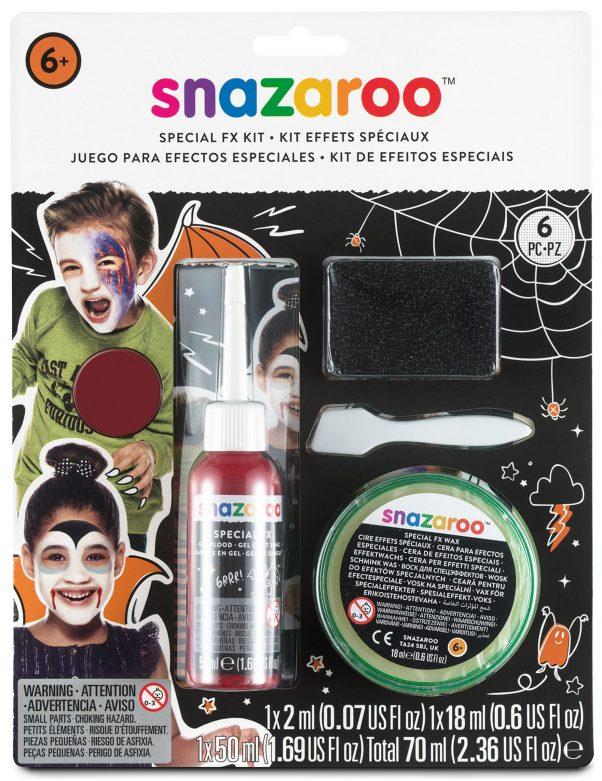 Photo du produit Kit effets spéciaux blessures FX Snazaroo Halloween