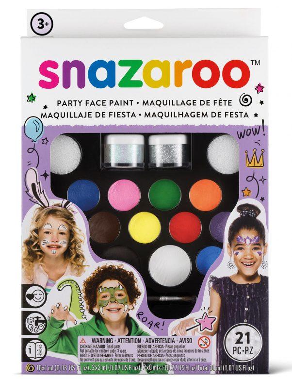Photo du produit Kit maquillage spécial fêtes Snazaroo