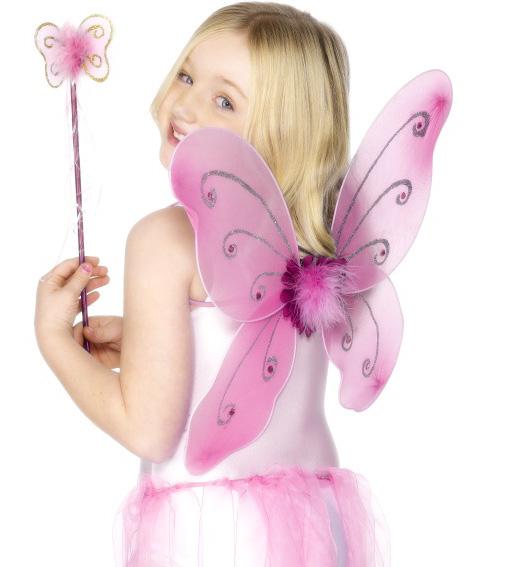 Photo du produit Kit papillon rose fille