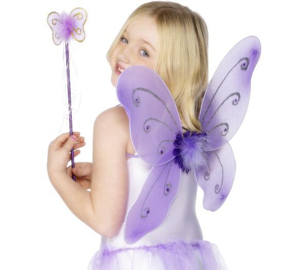 Photo du produit Kit papillon violet fille