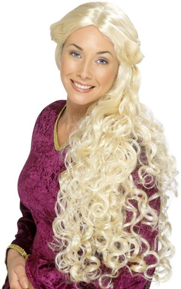 Photo du produit Perruque longue blonde adulte