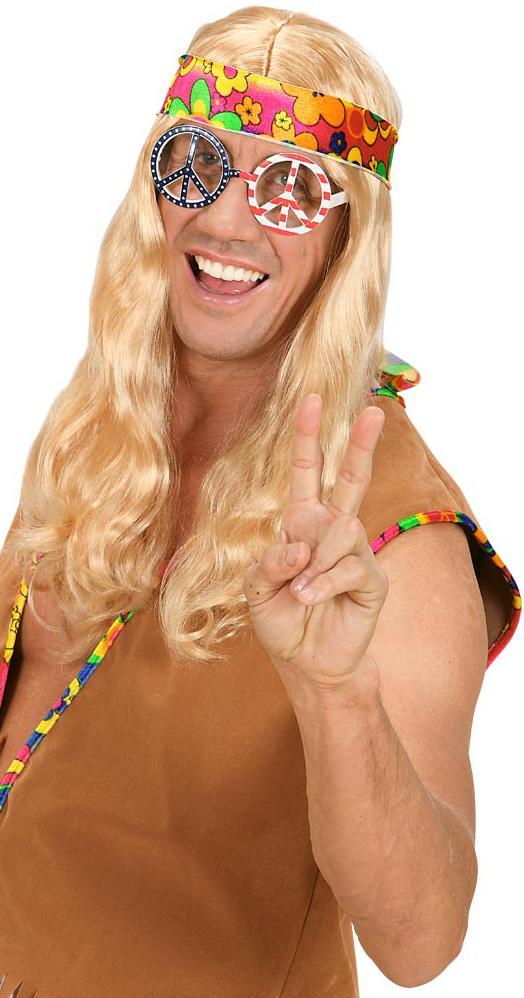Photo du produit Lunette hippie Amérique adulte