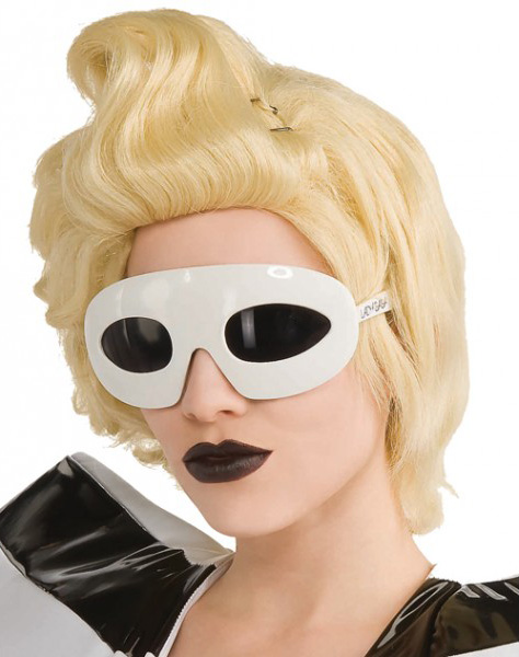 Photo du produit Lunettes Lady Gaga blanches