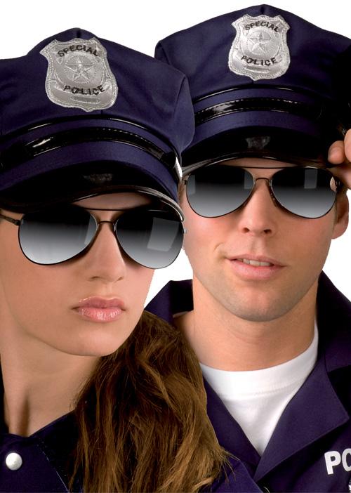 Photo du produit Lunettes police adulte