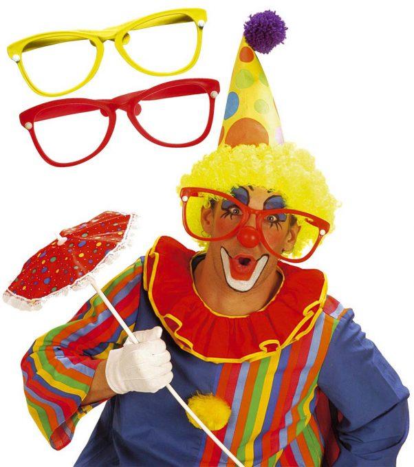 Photo du produit Lunettes de clown géantes adulte