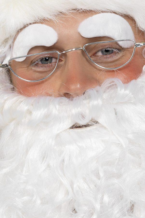 Photo du produit Lunettes Père Noël adulte en métal