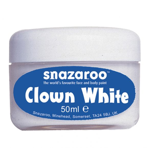 Photo du produit Maquillage clown blanc Snazaroo 50 ml