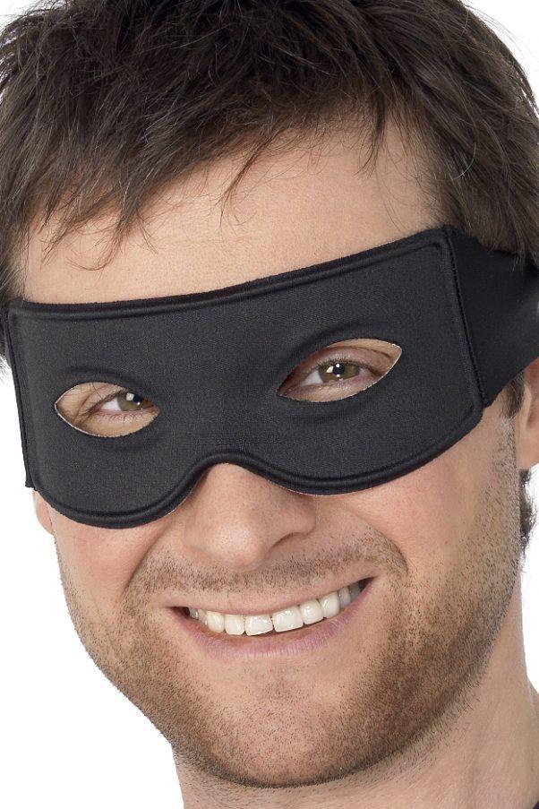 Photo du produit Loup noir justicier masqué adulte