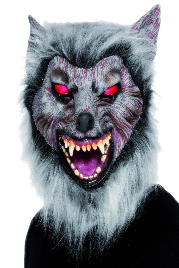 Photo du produit Masque loup garou avec fourrure adulte