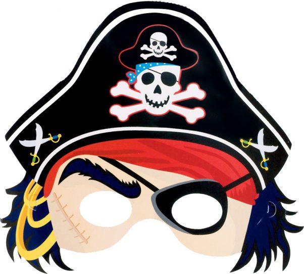 Photo du produit Masque en carton de pirate enfant
