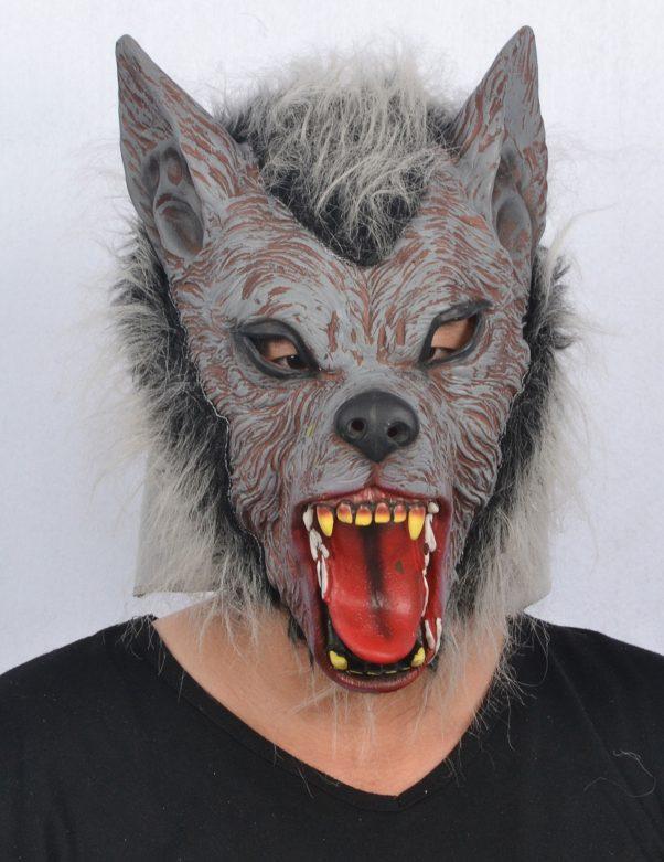 Photo du produit Masque loup garou adulte en latex