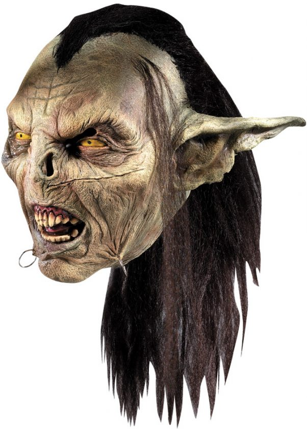 Photo du produit Masque Orc Seigneur des Anneaux adulte