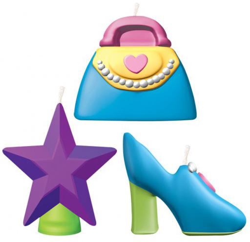 Photo du produit Mini bougies accessoires fille