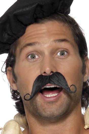 Photo du produit Moustache à la francaise adulte