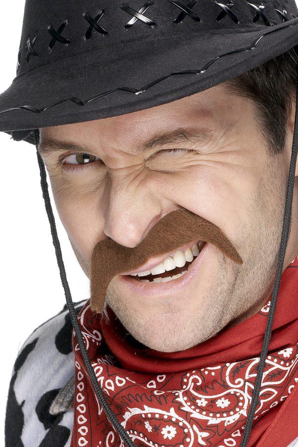 Photo du produit Moustache cowboy adulte