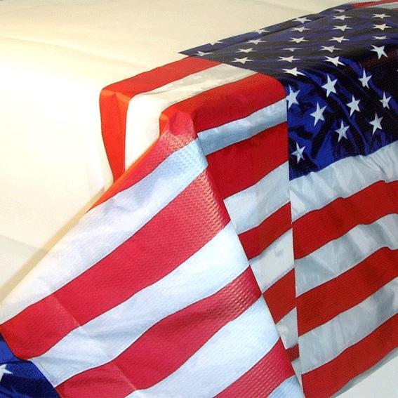 Photo du produit Nappe drapeau USA