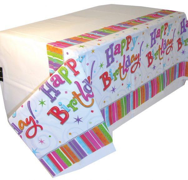 Photo du produit Nappe happy birthday