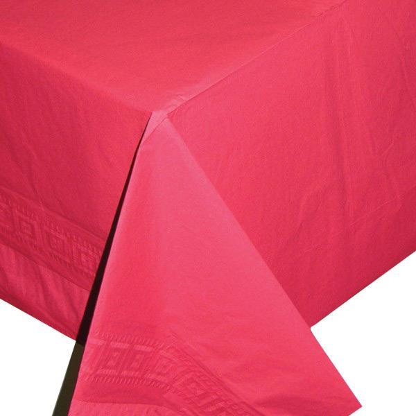 Photo du produit Nappe rouge en papier