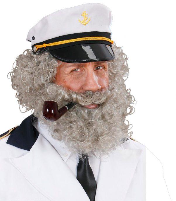 Photo du produit Barbe et moustache de marin homme