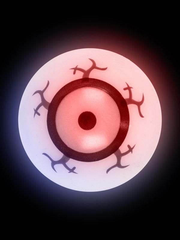 Photo du produit Un oeil phosphorescent et rebondissant