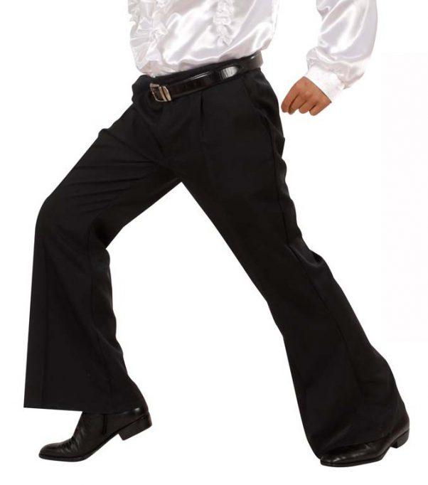 Photo du produit Pantalon disco noir homme