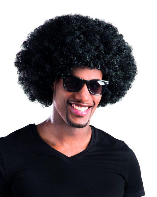 Photo du produit Perruque afro/ clown noire volume adulte