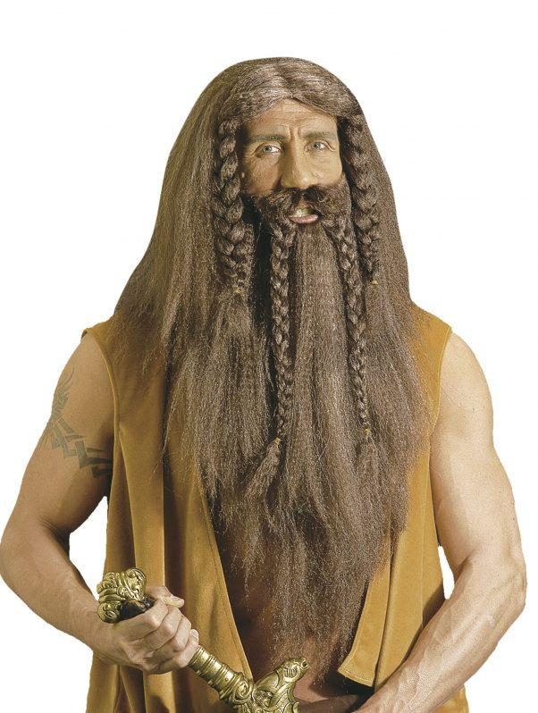 Photo du produit Perruque barbare viking homme