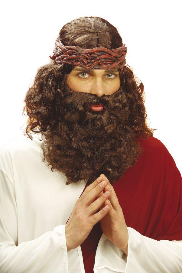 Photo du produit Perruque avec barbe de prophète homme