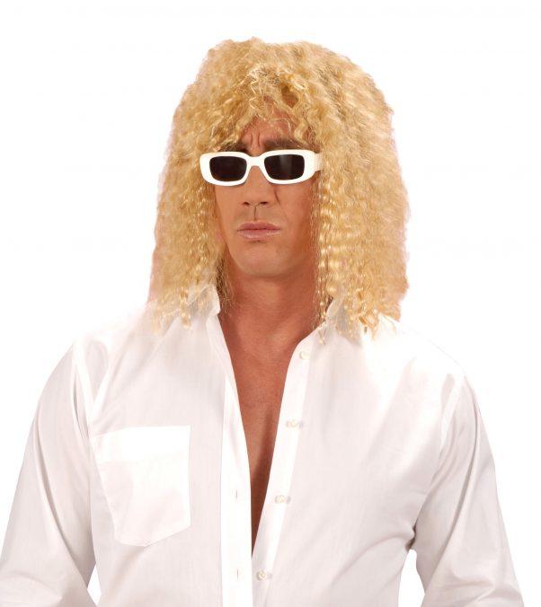 Photo du produit Perruque blonde de chanteur adulte
