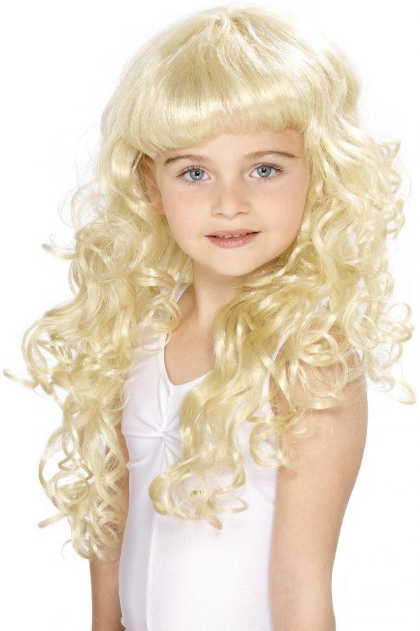 Photo du produit Perruque blonde de princesse fille