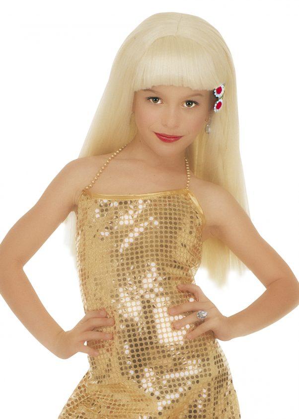 Photo du produit Perruque blonde glamourfille