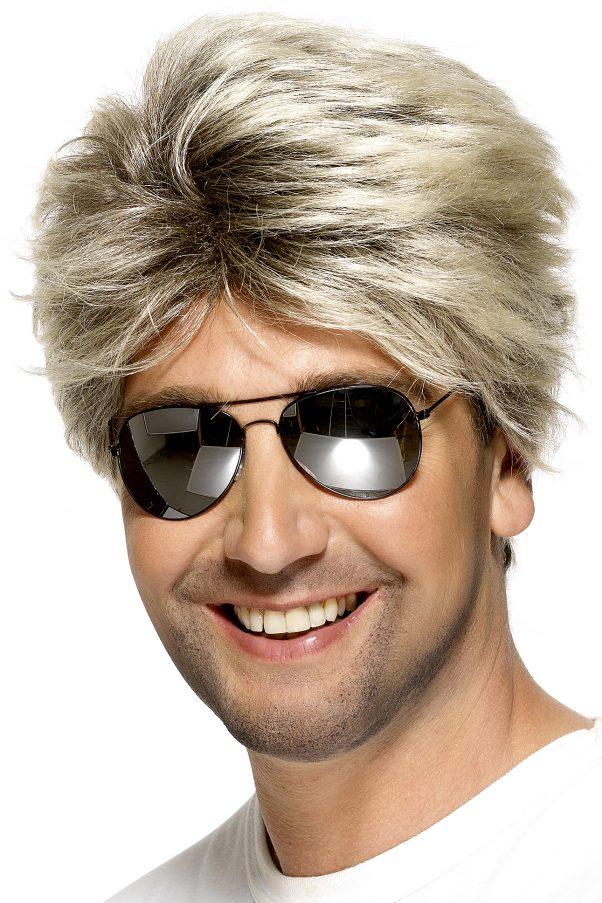 Photo du produit Perruque blondecourte homme