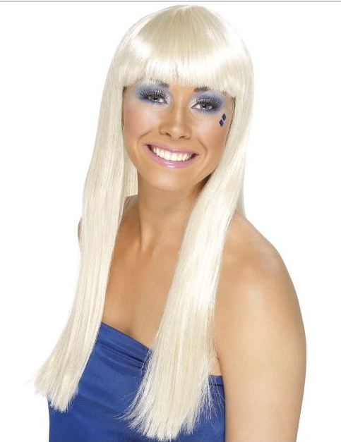 Photo du produit Perruque blonde longue rétro femme