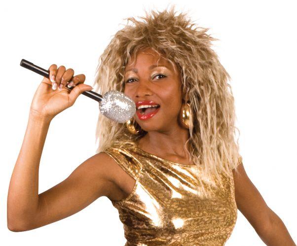 Photo du produit Perruque chanteuse rock célèbre femme