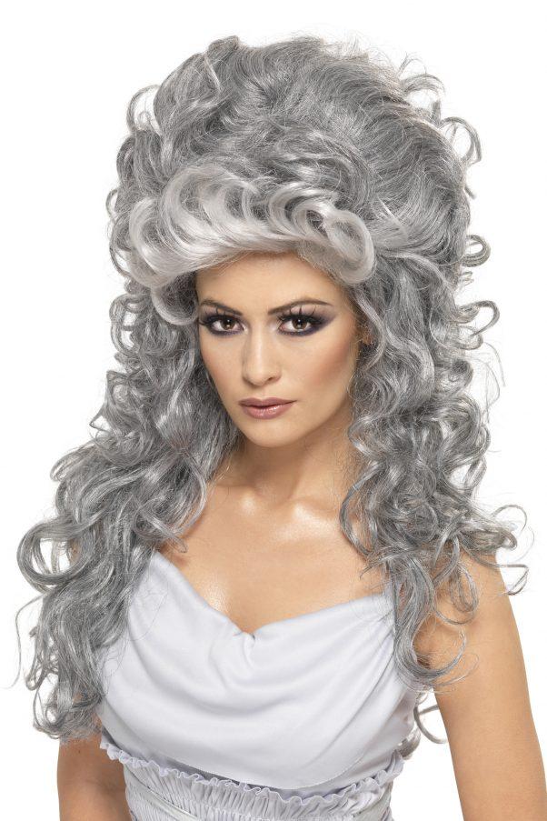 Photo du produit Perruque comtesse grise femme
