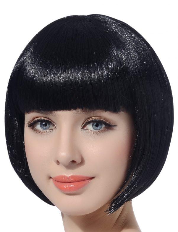 Photo du produit Perruque courte noire femme