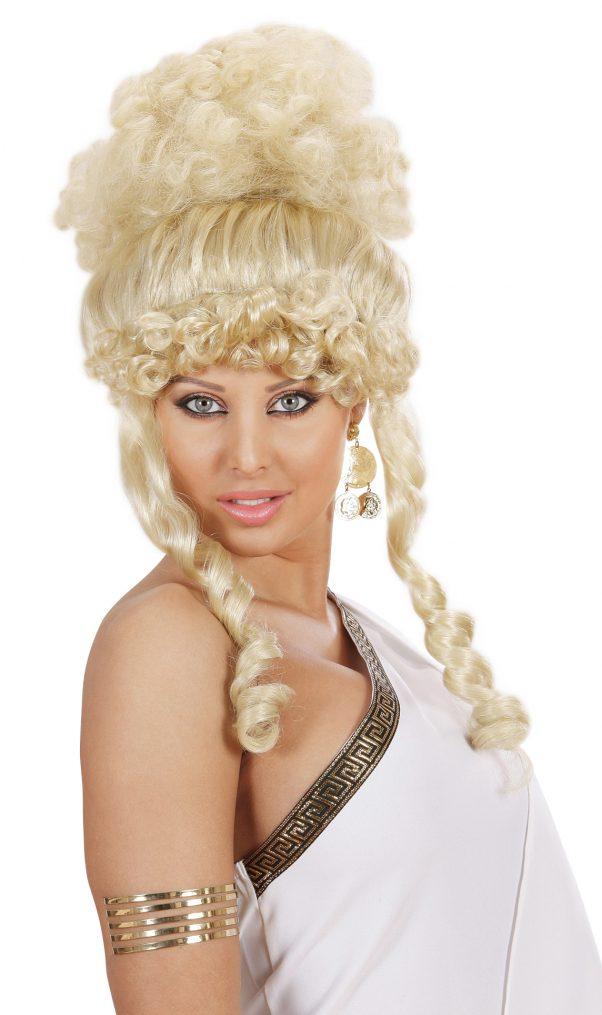 Photo du produit Perruque déesse blonde femme