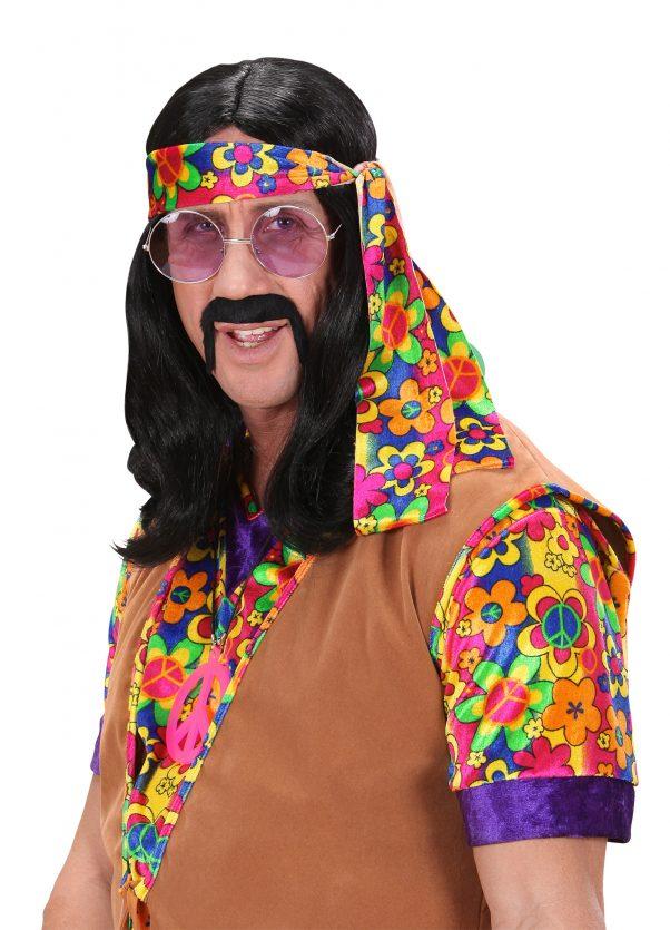 Photo du produit Perruque hippie homme