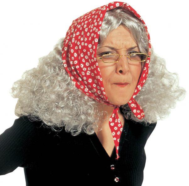 Photo du produit Perruque vieille femme
