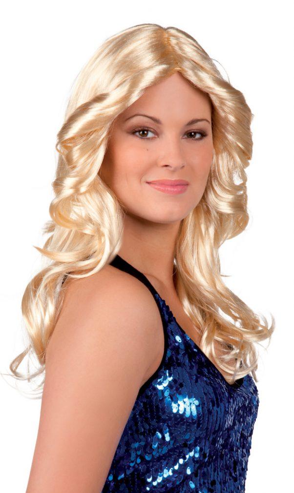 Photo du produit Perruque blonde disco femme